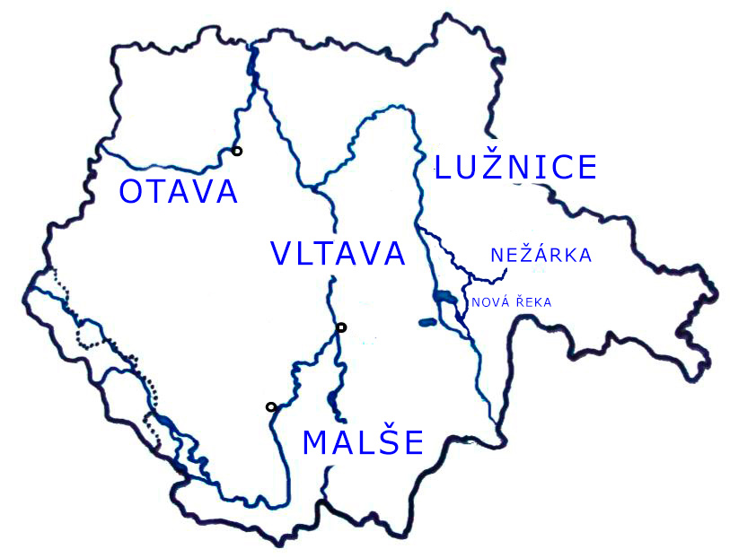 jihočeské-reky